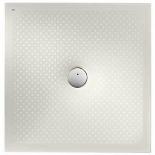 Roca In Floor Anti-Slip Square Shower Tray - 900mm x 900mm - Edelweiss